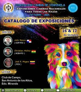 """Lee más sobre el artículo Catálogo de Exposiciones Caninas Nacionales """"Oct-2021"""""""